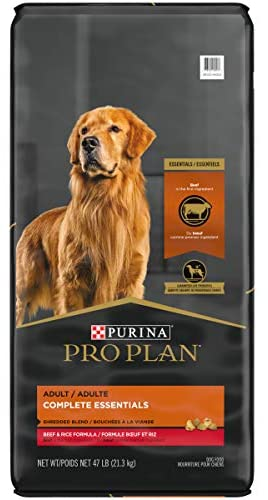 Purina Pro Plan With Probiotics Shredded Blend High Protein, Digestive Health Adult Dry Dog Food (Packaging May Vary) 1